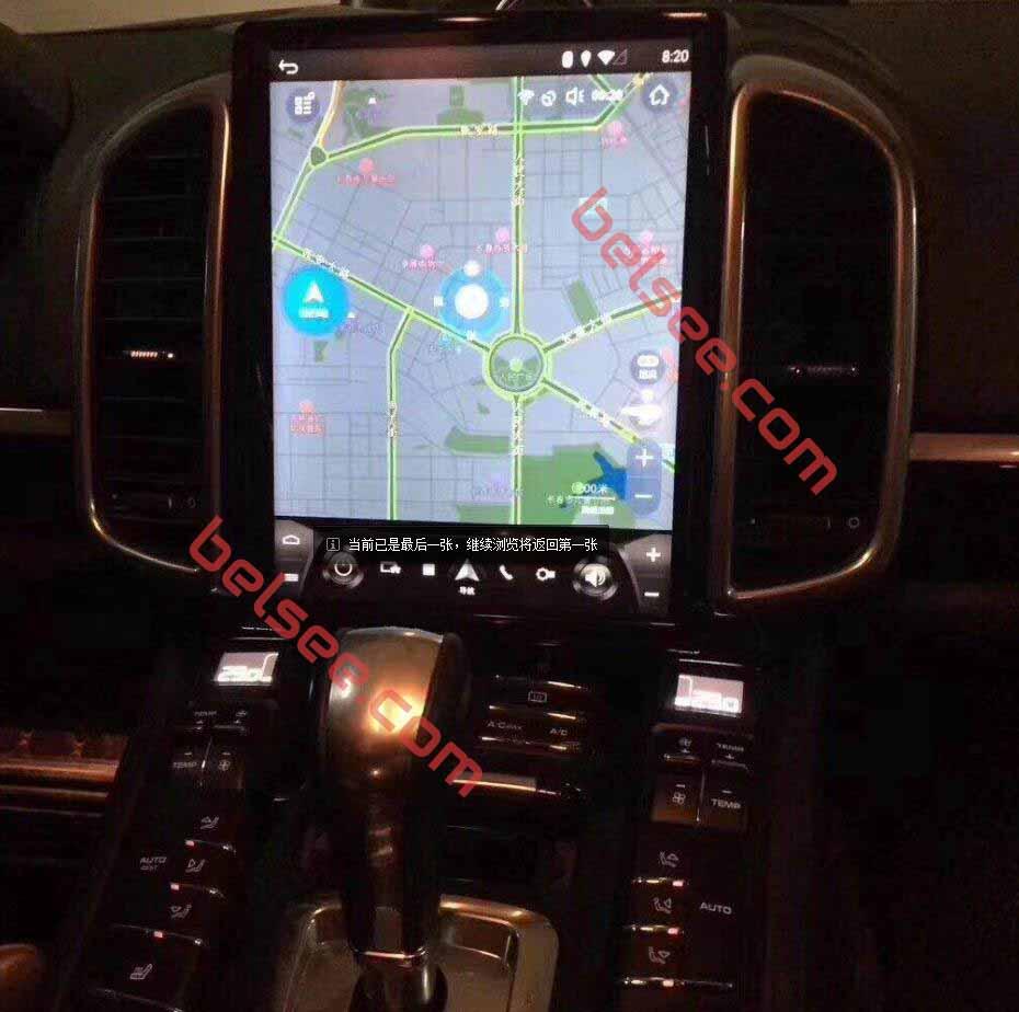 Porsche Panamera 2010-2016navigation system