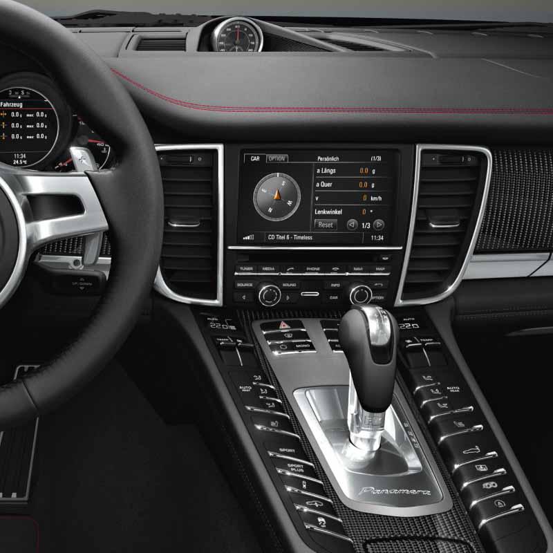 Porsche Panamera 2010-2016factory radio