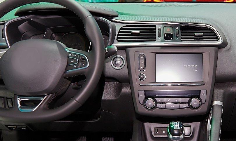 Renault Kadjar factory radio