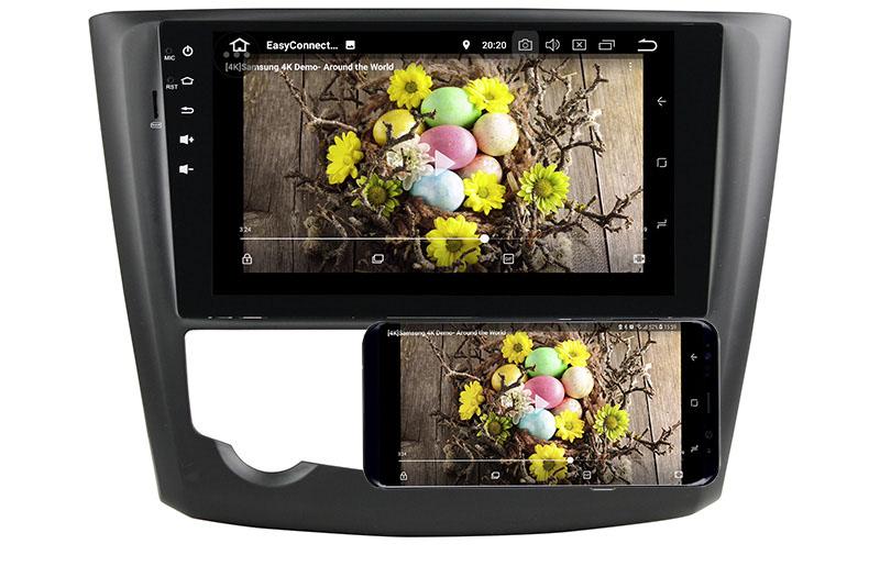 Renault Kadjar android mirror link