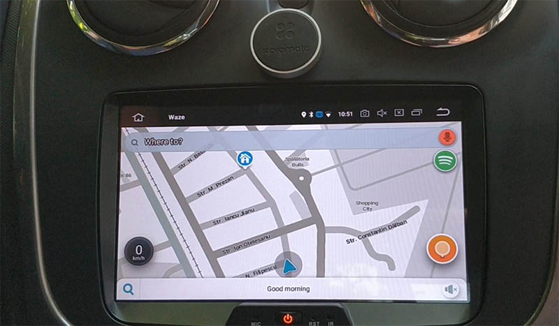 Dacia android radio
