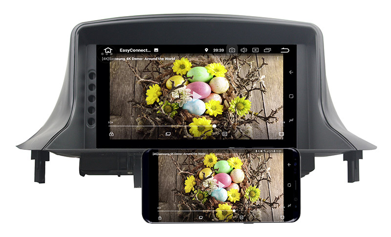 Renault android mirror link