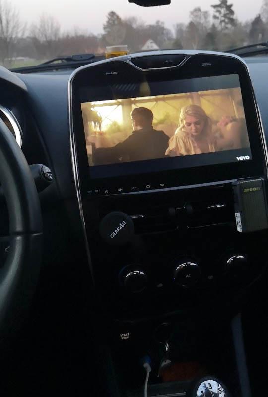 Renault Clio android 9.0 radio