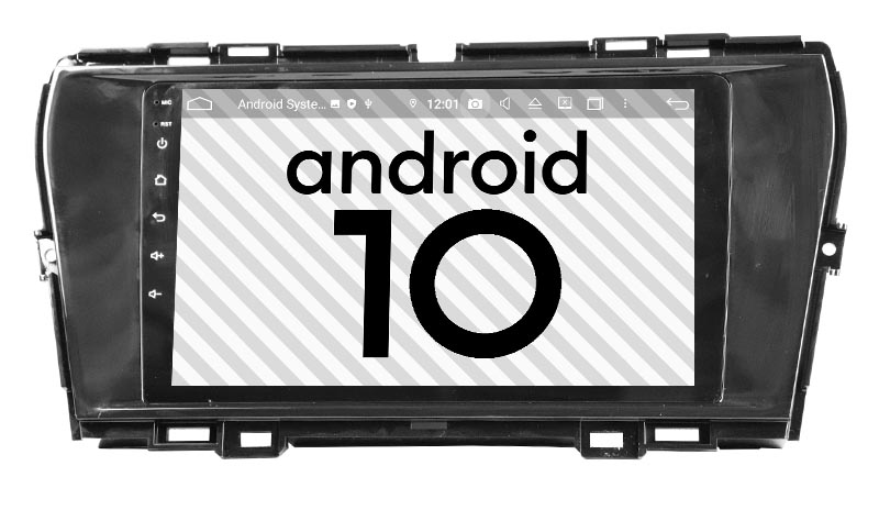 SsangYong Korando 2019-2020 android 10.0 autoradio