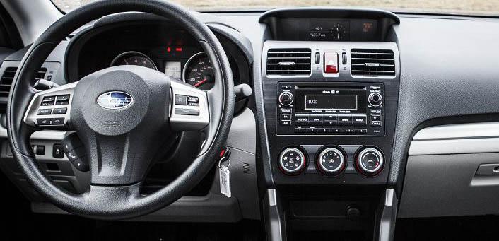 Subaru Forester XV 2013 2014 factory radio