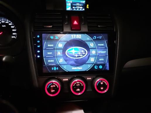 Subaru XV Crosstrek WRX STI Forester 2014-2020 android 10.0 autoradio