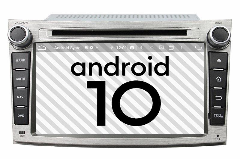 Subaru Legacy Outback 2009-2014 android 10.0 autoradio