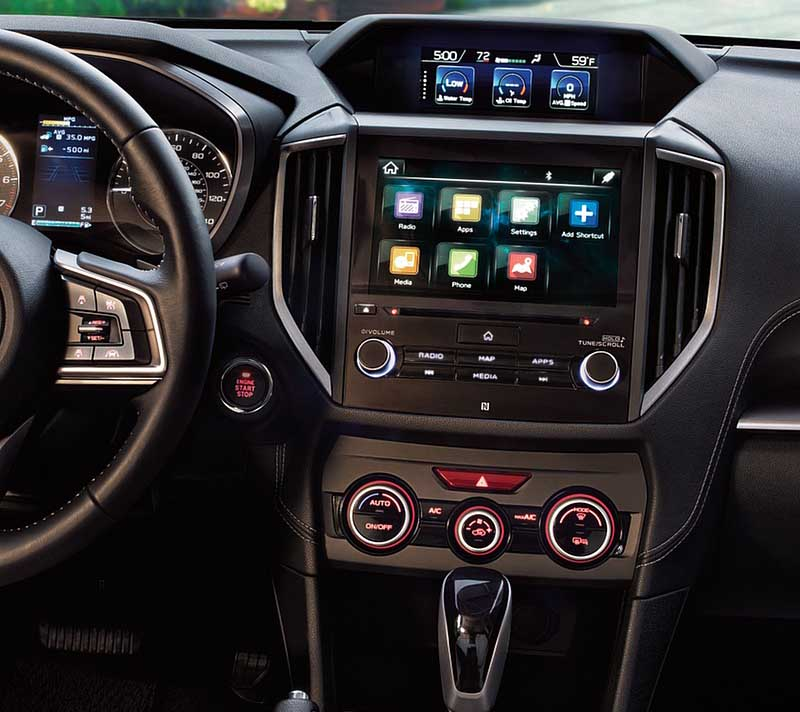 Subaru XV Impreza Crosstrek Forester 2017-2020 factory radio
