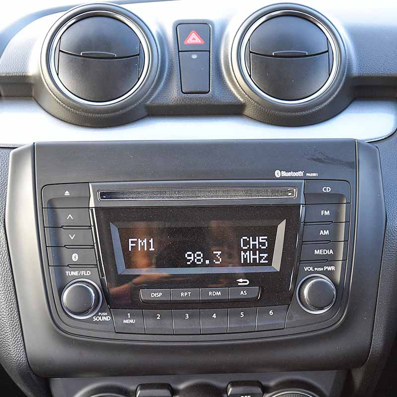 Suzuki Swift 2017 2018 2019factory radio