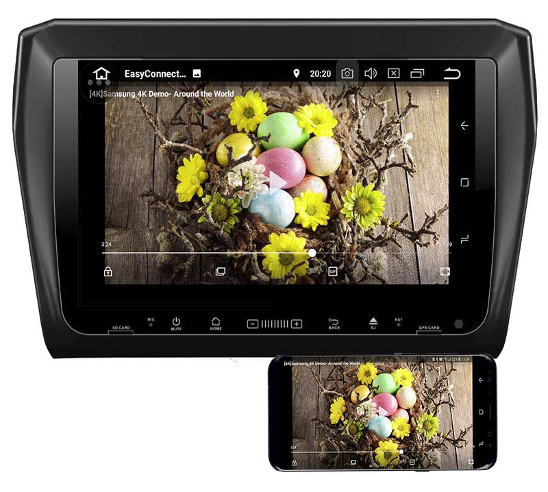 Suzuki Swift 2017 2018 2019dvd player android mirror link