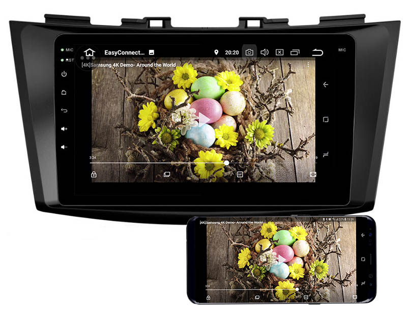 Suzuki Swift Ertiga 2011-2016 android mirror link