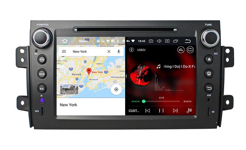 slpit screen on android 8.0 Suzuki SX4
