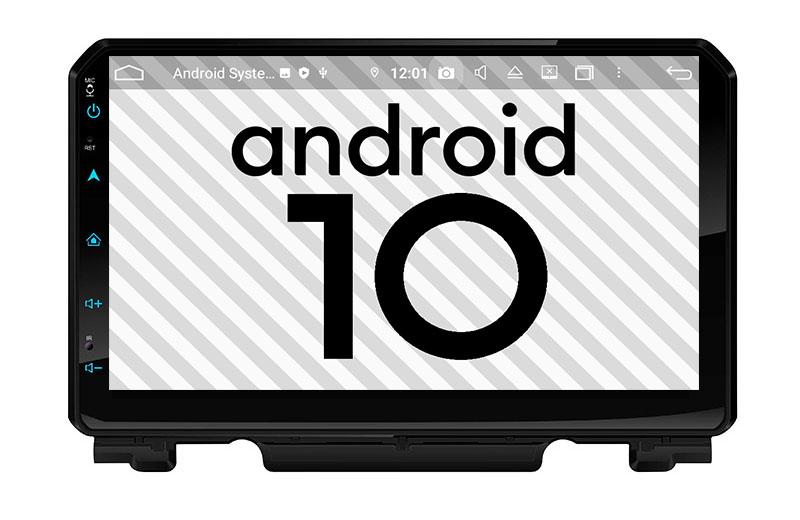 Suzuki Jimny 2018 2019 2020 2021 android 10.0 autoradio