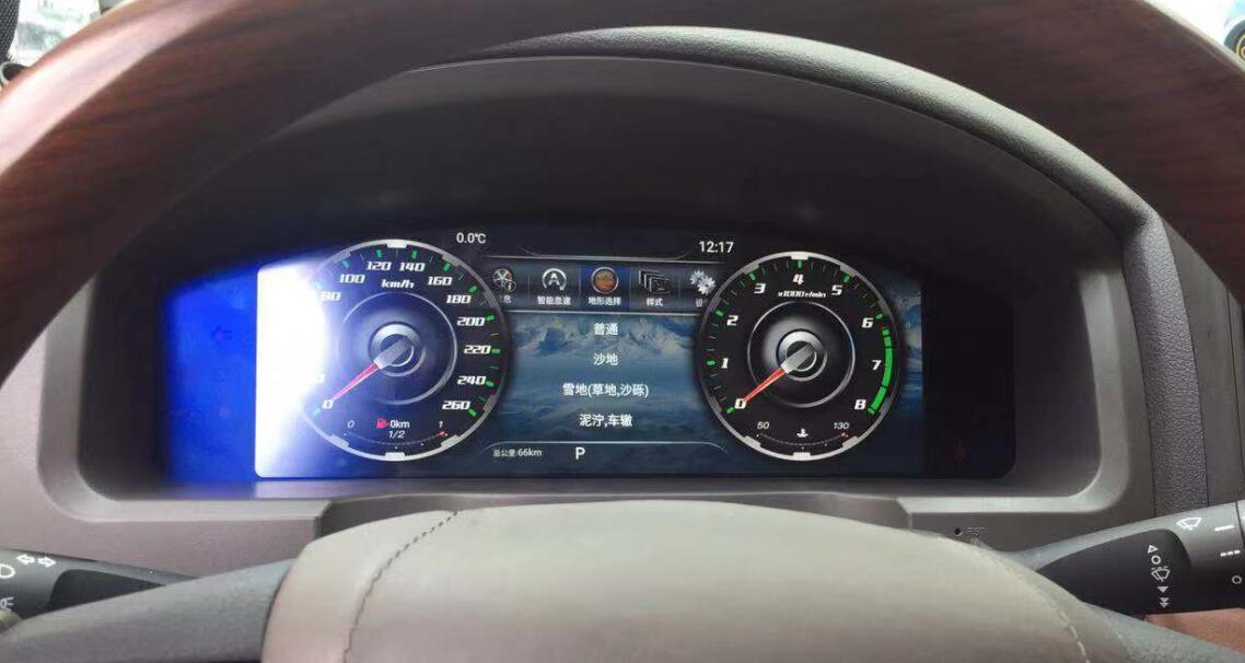 dash display Toyota Land Cruiser 2008-2019