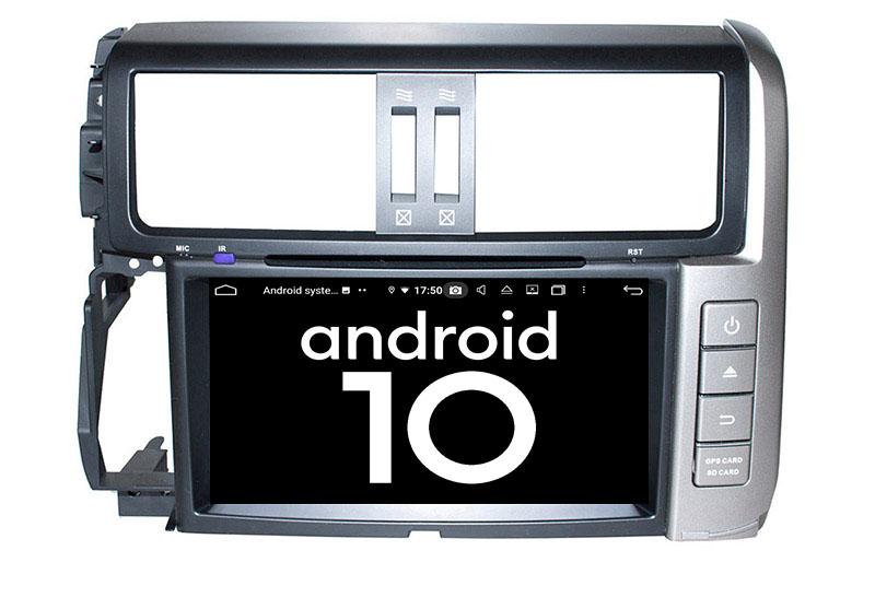 Toyota Land Cruiser Prado J150 2009-2013 android 10.0 autoradio
