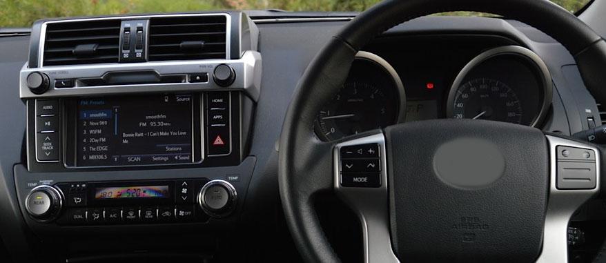 Toyota Land Cruiser Prado 150 2013-2017 factory radio
