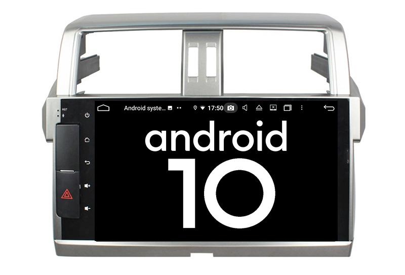 Toyota Land Cruiser Prado 150 2013-2017 android 10.0 autoradio