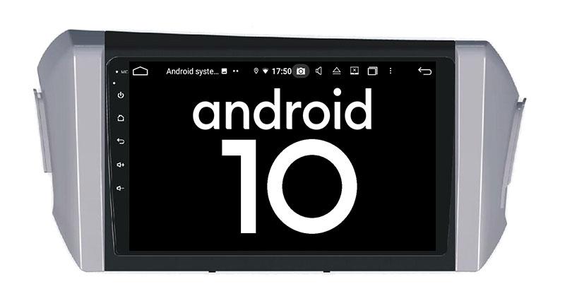 Toyota Innova 2015-2021 android 10.0 autoradio