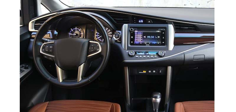 Toyota Innova 2015-2021 factory radio