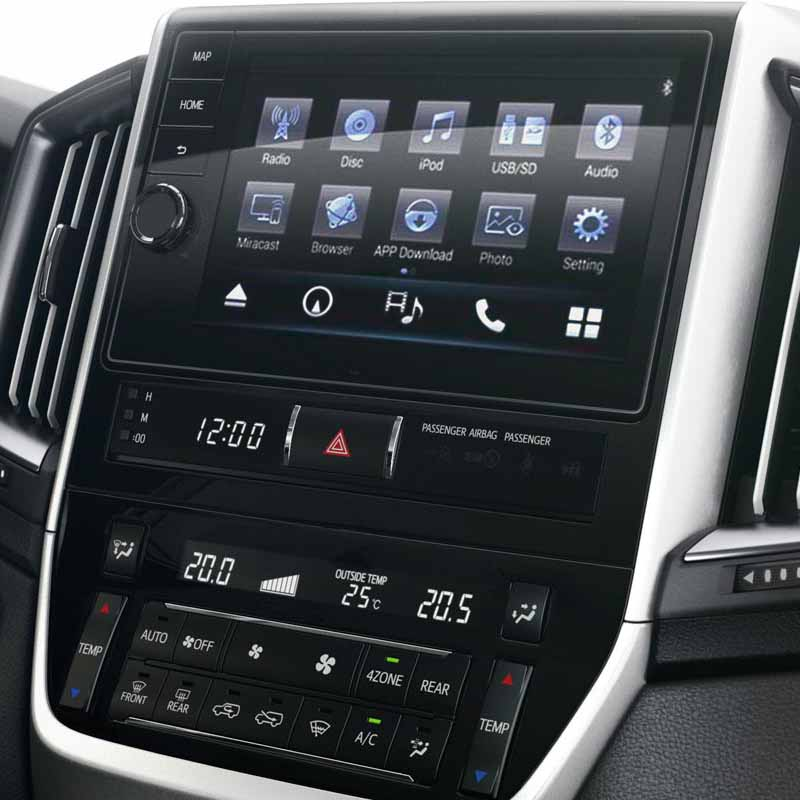 2015 2016 Toyota Land Cruiser LC200factory radio