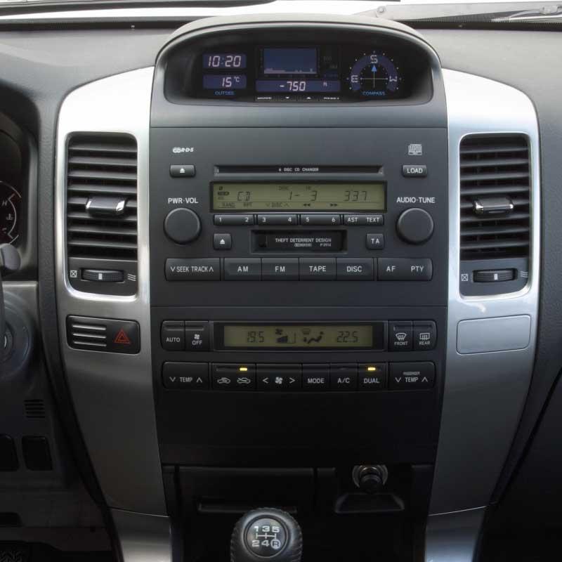 Toyota Land Cruiser Prado 120 Lexus GX470 2002-2009 factory radio