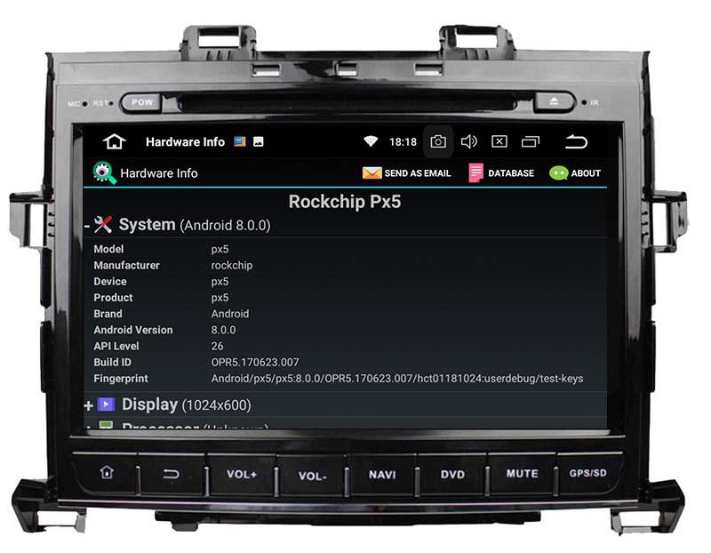 Toyota Alphard 2007-2013 android radio