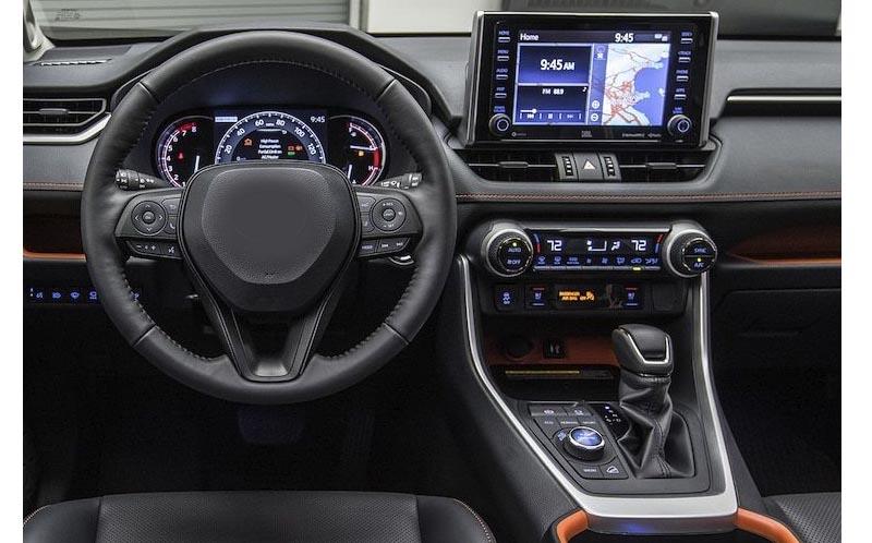 Toyota RAV4 2019 2020 factory radio