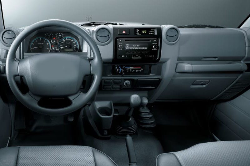 Toyota Land Cruiser Pickup 2019 2020 2021 factory radio