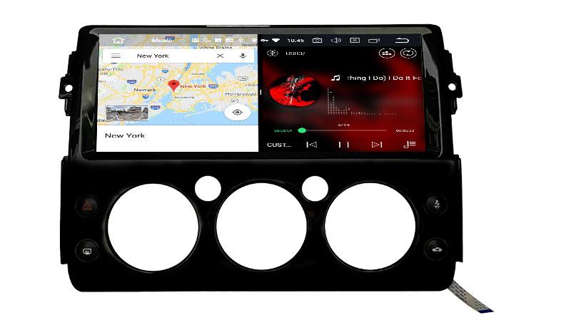 slpit screen on android Toyota FJ Cruiser 2006-2019