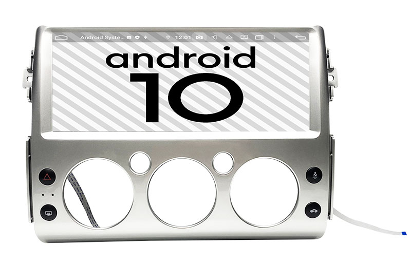 Toyota FJ Cruiser 2006-2019 android 10.0 autoradio