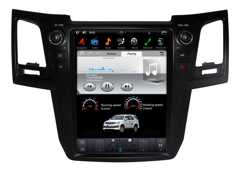 Toyota Fortuner 2004-2015 multimedia Player