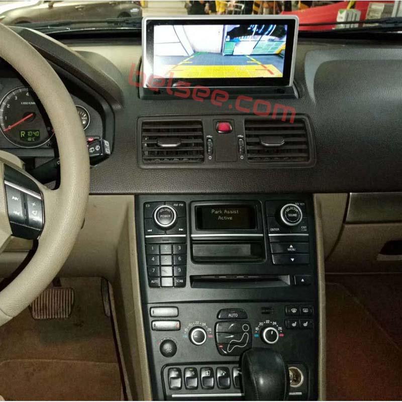 volvo xc90 in dash navigation system
