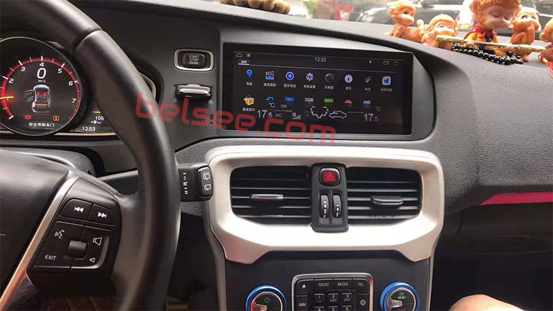 volvo v40 android head unit