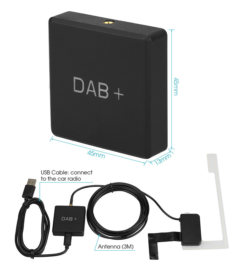 dab+ radio receiver