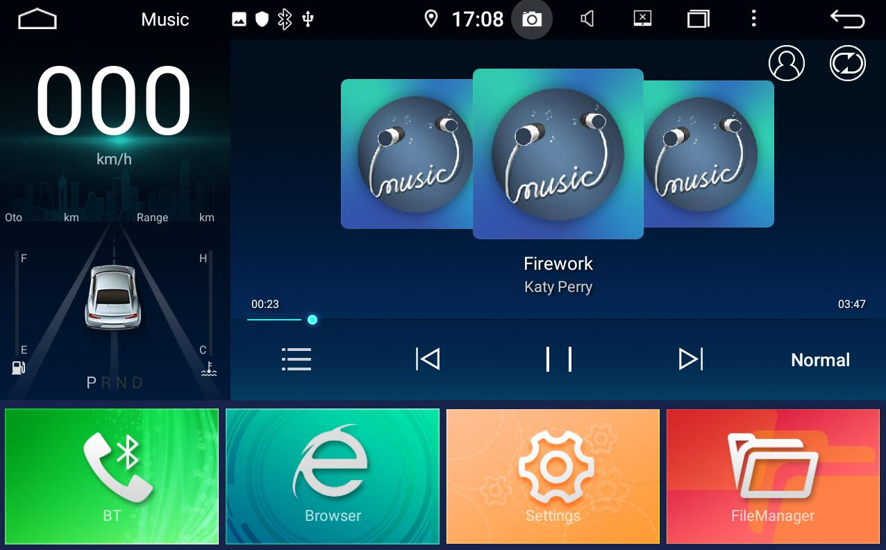 tesla style android music