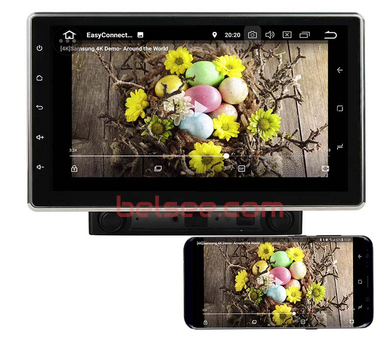 10.1 double din android 8.0 mirror link