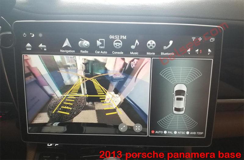 12.8 tesla android Porsche panamera