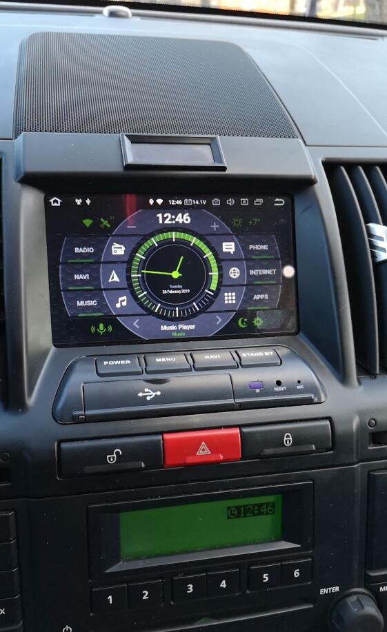 Land Rover Freelander II 2 touch screen