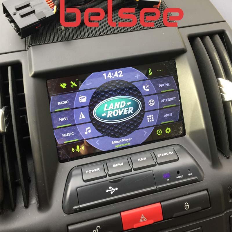 Land Rover Freelander II 2 android autoradio