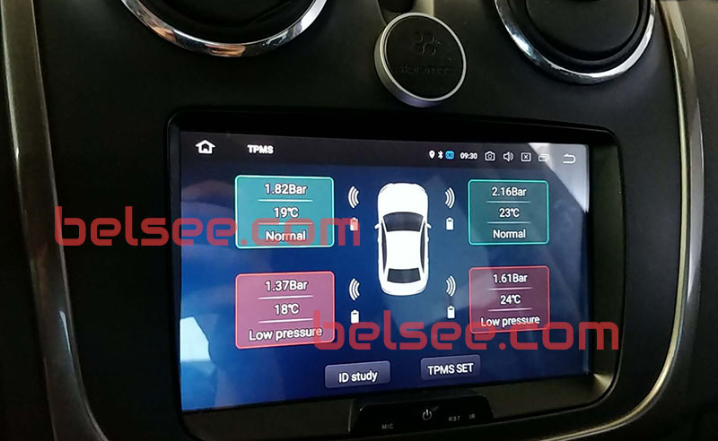 android head unit TPMS