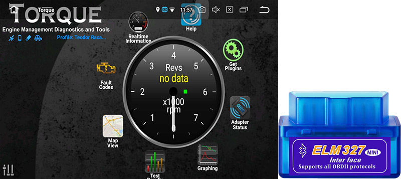 android head unit obd2