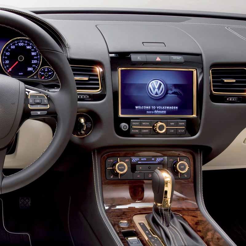 Volkswagen Touareg 2011 2012 2013 2014 factory radio