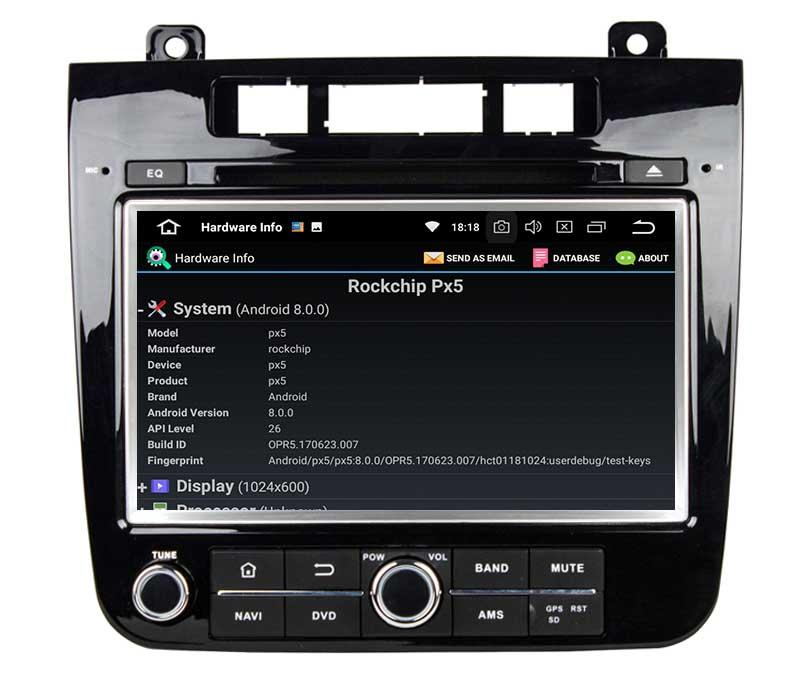 Volkswagen Touareg 2011 2012 2013 2014 android radio