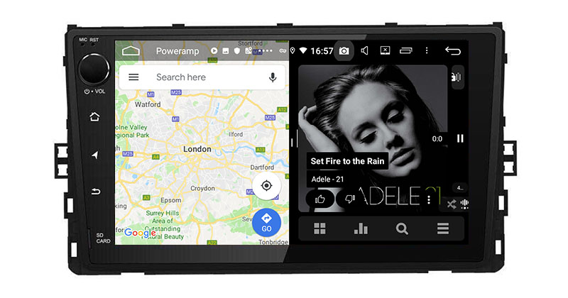 Belsee Best Aftermarket Android 9.0 Auto Head Unit Car Radio Replacement  Stereo for 2018 2019 2020 VW Volkswagen Universal Polo Tiguan Jetta Atlas  Golf T-Roc 9 inch IPS Touch Screen GPS Navigation