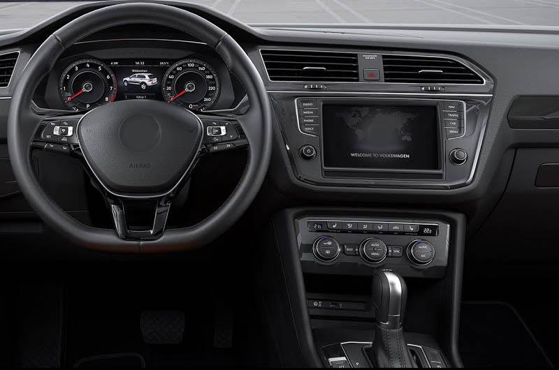 VW Tiguan 2016 2017 2018 2019factory radio