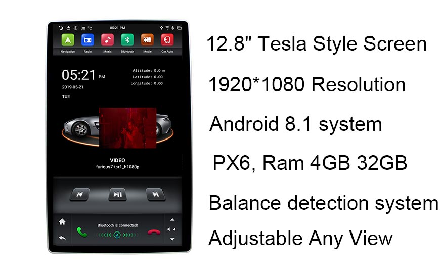 android 9.0 car radio stereo head unit