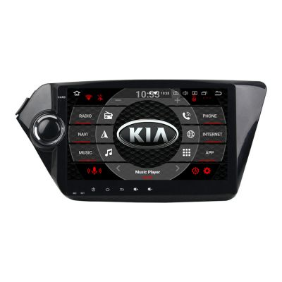 Belsee Aftermarket Android 8 0 Oreo Auto Head Unit Gps Navigation Radio Car Stereo For Kia Rio K2 2010 2017 9 Inch Touch Screen Ips 2