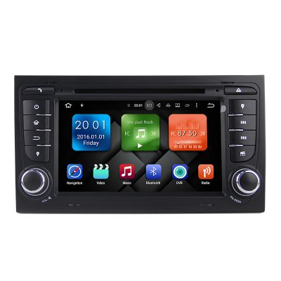 Belsee Best Car Radio DVD Player Stereo for Audi A4 2002-2007 Octa Core PX4 Android 8.0 Oreo Ram 4GB Rom 32GB 7