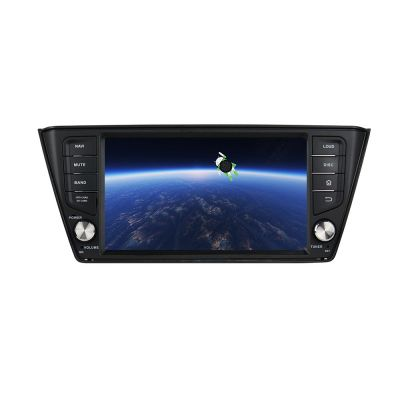 Belsee Aftermarket Android 8.0 Oreo Autoradio for Skoda Fabia 2014 2015 2016 2017  8 Inch Single 1 Din Head Unit Touch Dual IPS Screen Sat Nav Navigation System Octa Core PX5 Ram 4GB Rom 32GB Carplay Mirror Android Auto Wifi Bluetooth Car Radio Player