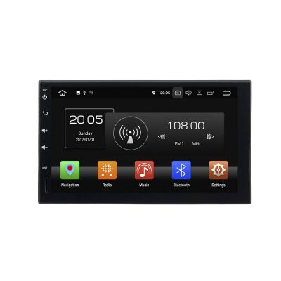 Belsee Best Aftermarket Universal Android 8.0 Double 2 Din Autoradio Car Stereo Auto Head Unit In Dash GPS Navigation Audio System 7